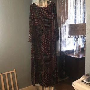 Sundance floor length velvet dress